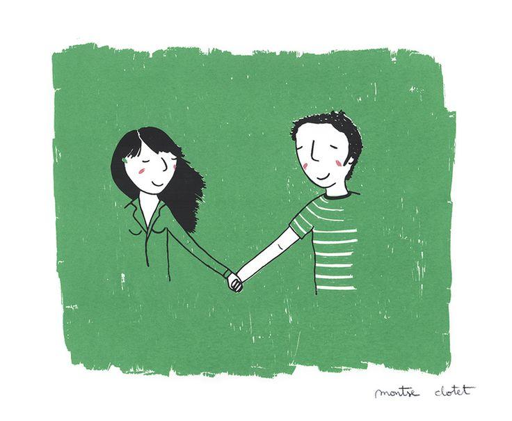 Feeling so good, by Montse Clotet Screen printing, serigrafia, 3 tintas, love, amor, feelingsogood.