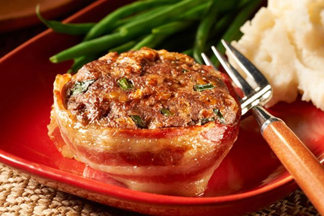 Keep these bacon-wrapped make-ahead mini meatloaves in the freezer for a fast, home-cooked solution to mealtime emergencies.