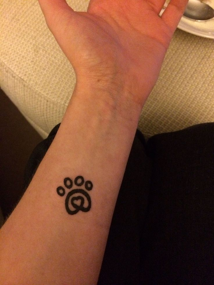 16 best paw print tattoos images on pinterest paw print tattoos rh pinterest com heart paw print tattoo designs heartbeat paw print tattoo