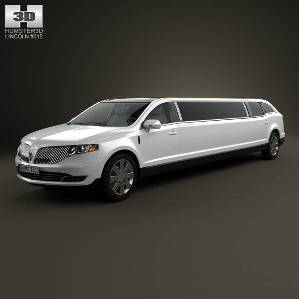 Lincoln MKT Royale Limousine 2012 3d model from humster3d.com. Price: $75