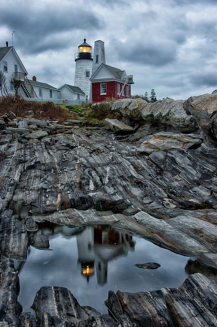 Pemaquid Maine  - been here many times and like the rock formations