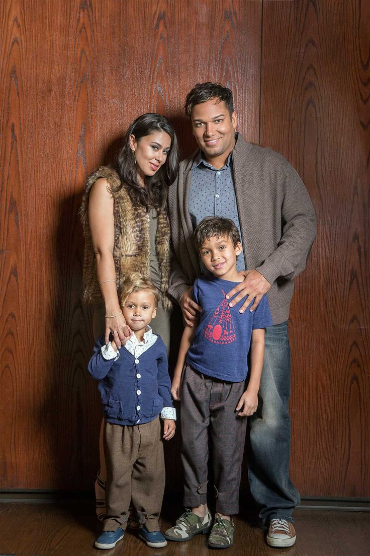 Taryll Jackson with Breanna and children.