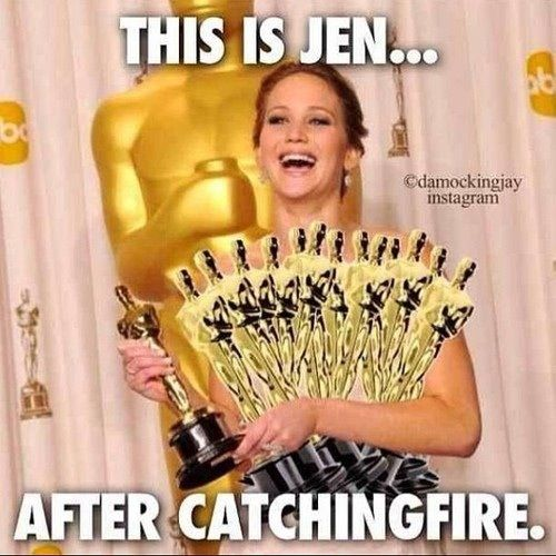 Lol haha funny / Hunger Games / Catching Fire / Funny Pics / Pictures / Jennifer Lawrence