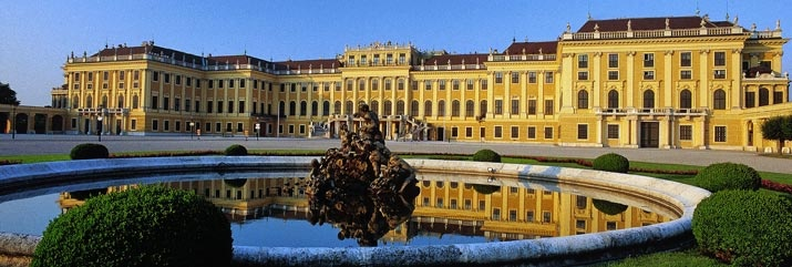 The majestic Schonnbrunn Palace