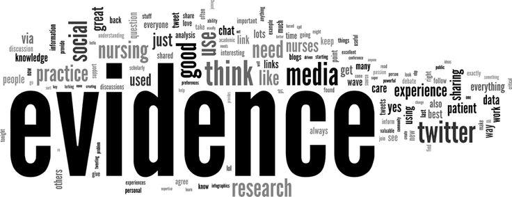 """""""Nursing evidence & social media' 22/05/2014 #WeNurses"""