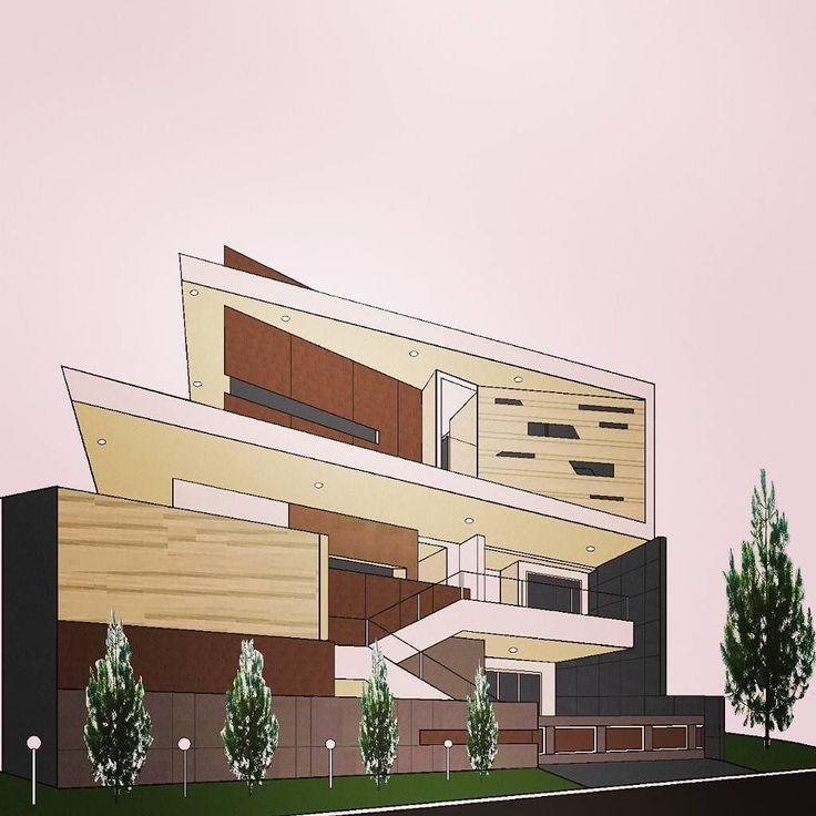 On instagram by iwansen_munte  #homedesign #metsuke (o)  http://ift.tt/1Tr2tOf  home design for cramped urban environment. 20mX20m wide 16m high the cost of 2 million dollar. Desain untuk rumah perkotaan dengan lahan sempit. 35 lantai luas 20mx20m tinggi 16m. cost: rp. 16M.  #rumahku #desainku #desain #rumahmodern #rumahmewah #desainrumah #home  #houseexterior #housedesign #futurehouse #inspiring