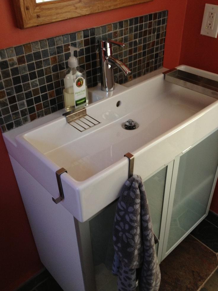 Narrow Bathroom Sink... Half Bath