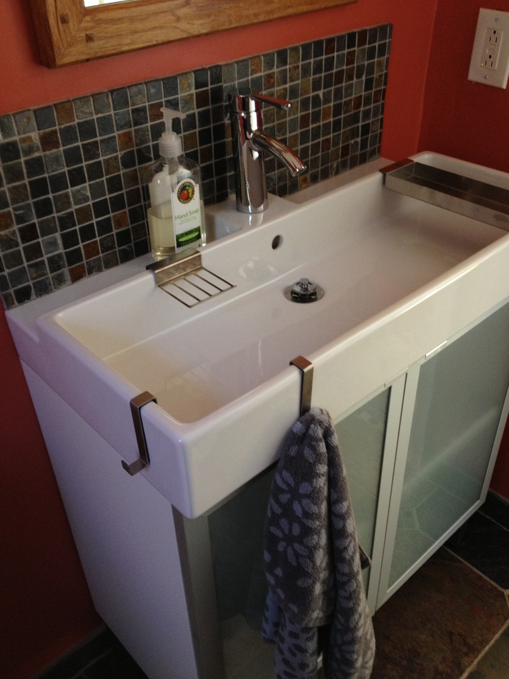 Narrow Bathroom Sink Half Bath