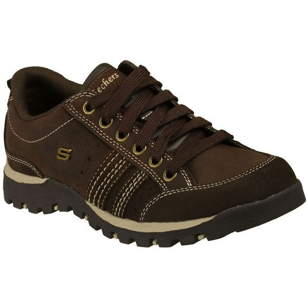 Skechers Women's Grand Jams - Replenish Brown - Skechers (410 SEK) ❤ liked on Polyvore featuring shoes, brown, skechers oxford, brown oxfords, skechers footwear, skechers shoes and brown oxford shoes