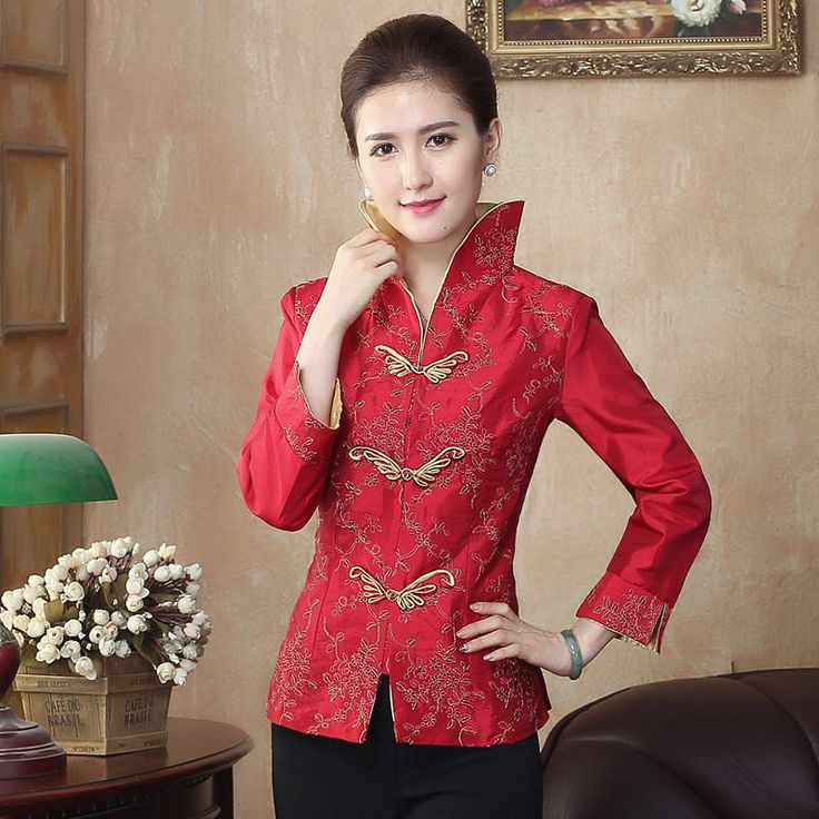 Women Arrival Coat Chinese Traditional Jacket Outerwear M L Xl Xxl 3Xl 4Xl