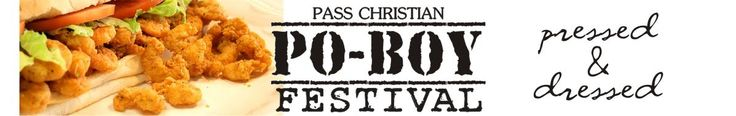 3rd Annual Pass Christian Po'boy Festival (Admission: Spectators Free) Wish I was there...guess I'm gonna have to make my own again!!! Info is below if ya wanna go! FUN for family! Enjoy music, arts, & crafts, carnival rides, Easter Hunt, kids fishing rodeo, the Blessing of the Fleet, classic car show ,& a tribute to a local delicacy - the Po-Boy! Date(s): 04/12/2014 - 04/13/2014 (8am-5pm) Pass Christian Harbor, Hwy 90, Pass Christian, Ms Renee Brooks - Event Coordinator - 228-222-2921