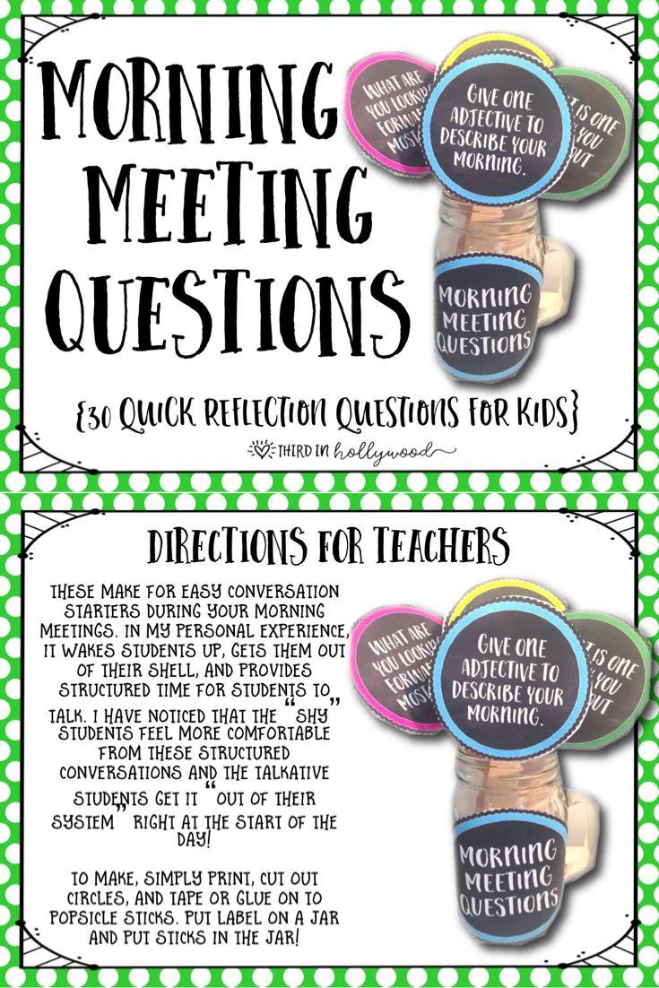 Classroom Meeting Ideas ~ Best ideas about class meetings on pinterest social