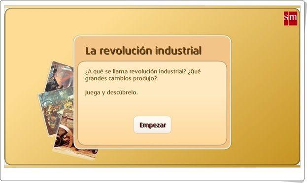 La revolución industrial (Librosvivos S.M.)