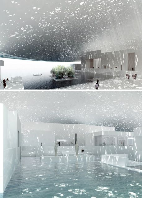 The new Louvre Dubai, opening date TBD. Photos via The New York Times