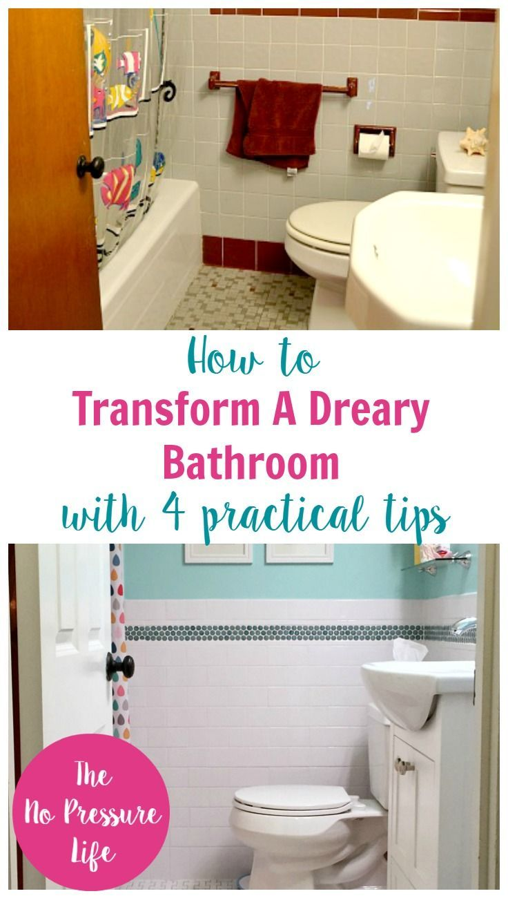 4 Practical Tricks That Will Transform Your Dreary Bathroom. Bathroom  MakeoversBathroom RenovationsBathroom IdeasKid ...