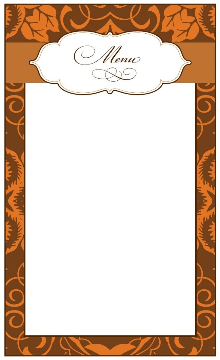 73 best images about cartes de menus on pinterest - Menus de noel a imprimer ...