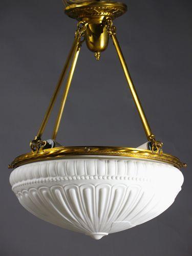 Lovely 145 best Antique Lighting Fixtures: Inverted Domes images on Pinterest VN03
