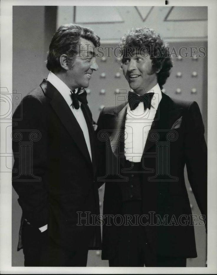 1976 Press Photo Dean Martin and Mac Davis on The Mac Davis Show - cvp70634