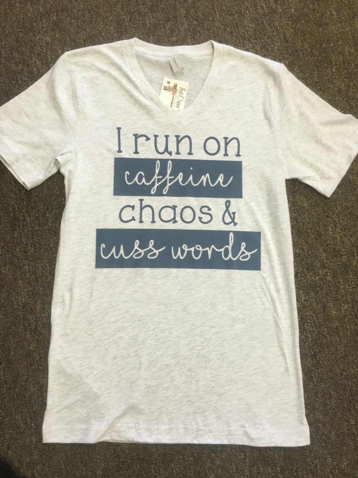by JOandJdesigns on Etsy https://www.etsy.com/listing/458536628/caffeine-chaos-cusswords-mom-life-shirt