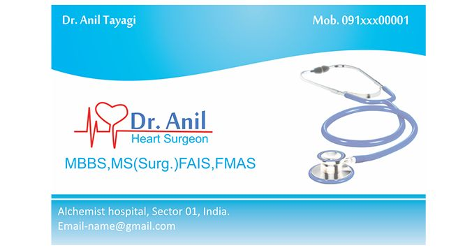 nice Business Cards for Doctors Best Business Cards – Business Card Template for Doctors