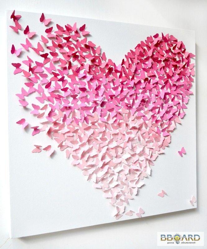 декор для стен Quot бабочки Quot купить де�...