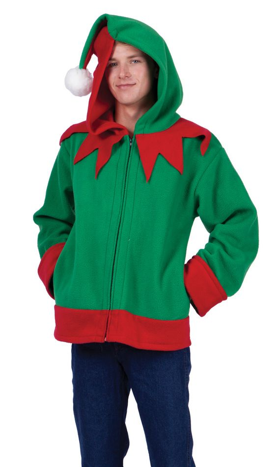 Adult Santa's Helper Costume Hoodie - Candy Apple Costumes - See All Plus Size Costumes