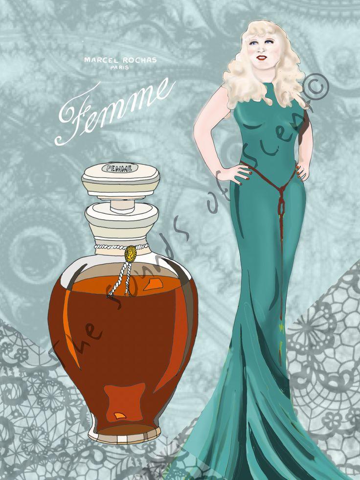 Mae West Femme Rochas