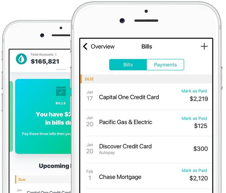 Mint Money Manager, Bills, Credit Score  Budgeting Finances