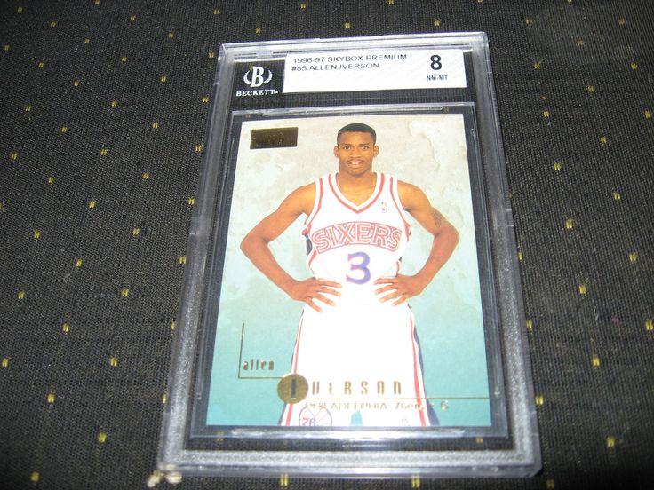 96-97 Allen Iverson Skybox Rc Bgs 8