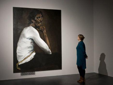 Turner Prize 2013 Lynette Yiadom-Boakye, Installation view
