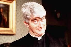Dermot Morgan - https://en.wikipedia.org/wiki/Dermot_Morgan  Scrap Saturday Father Ted