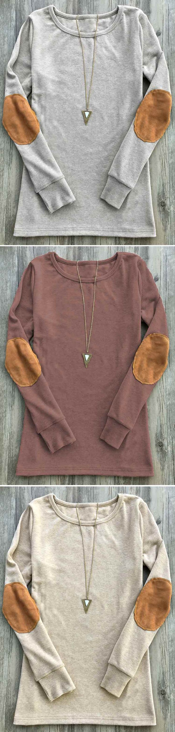 Suede classic calls! $21.99 Only with free shipping&easy return! This slim top features round neck&raglan sleeve! Pair it up to be cool at Cupshe.com