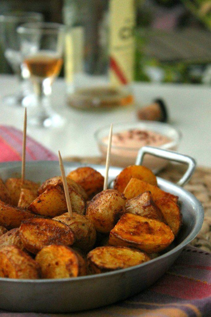 Pommes de terre rôties épicées et son dip crémeux (vegan)