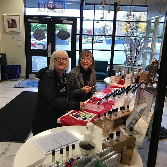 Scent crafting at the Apothecary Shoppe Aroma Bar! #achsedu #shopsmall #smallbizsaturday