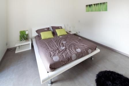La chambre parentale de la maison passive vue par Alliance Construction, constructeur de maison passive.