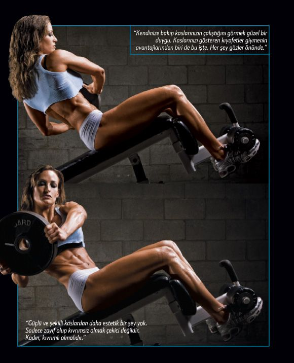 AB EXERCISE: 3 sets of 25 reps with 10-25lb. weight