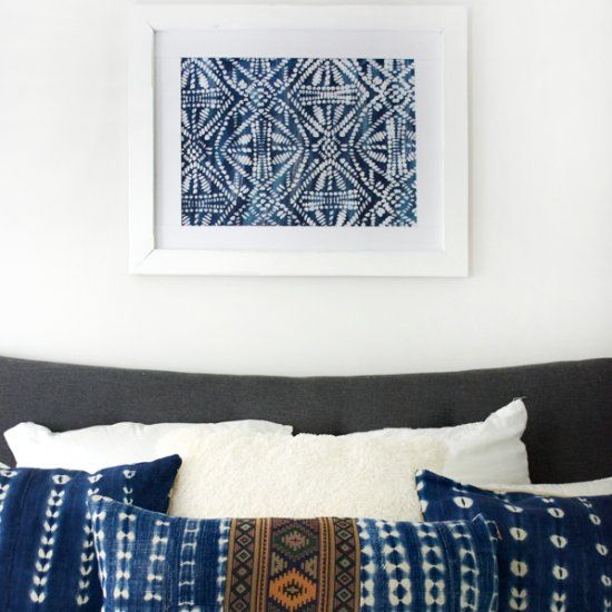 Use A Stencil To Create A Beautiful Piece Of Large Scale Art, Perfect To  Hang