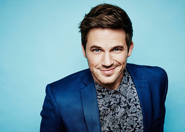 Matt Lanter from NBCUniversal's 'Timeless' poses for a portrait at the 2016 Summer TCAs Getty Images Portrait Studio at the Beverly Hilton Hotel on...