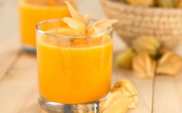 Smoothie od naranče, bundeve i mrkve