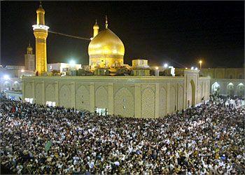 imam hussein shrine in karbala, iraq <3