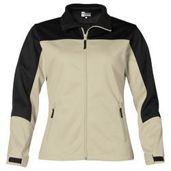Branded US Basic Attica Soft Shell Jacket - Ladies' | Corporate Logo US Basic Attica Soft Shell Jacket - Ladies' | Corporate Clothing