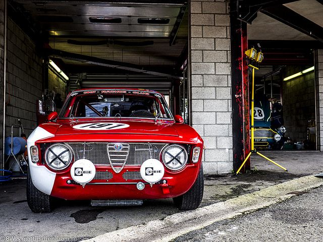 Alfa Romeo Giulia GTA. You don't even get a carpet kid