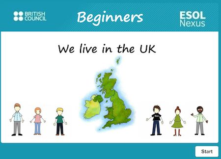 We live in the UK. E1