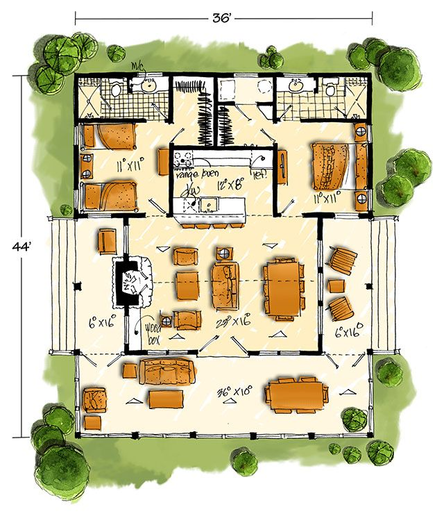 southern living house plans tiny. New Bunkhouse  Southern Living House Plans 315 best tiny home images on Pinterest Little houses Small