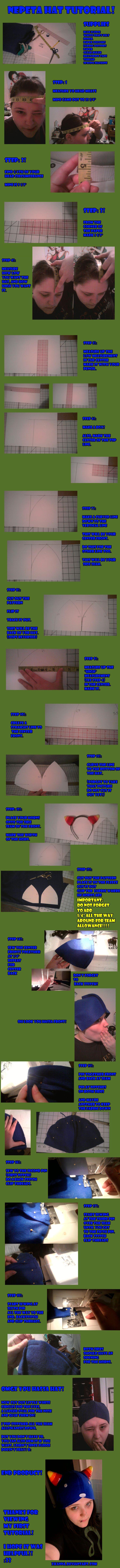 Nepeta Hat Tutorial by xKanna.deviantart.com on @deviantART