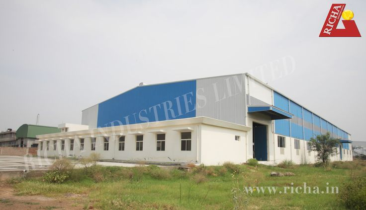 Steel building construction is taking fast pace in India due to enormous advantages associated with pre engineered steel buildings. Steel building construction owns some of the most attractive features like steel buildings include quick construction, quality construction, aesthetics excellence, architectural versatility and low maintenance cost to develop a building with high strength. Richa Industries Limited is one of the best steel building construction company in India.