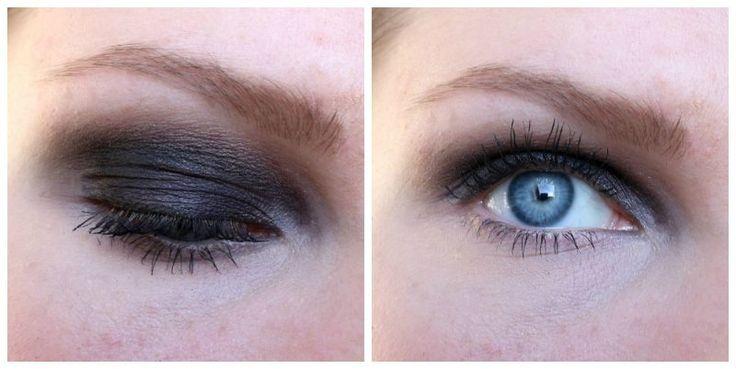 Donkere smokey eyes met zwart, perfect voor een feestje of stappen!