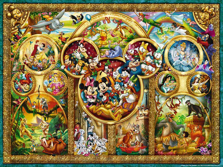 Die schönsten Disney Themen (Ravensburger Puzzle)