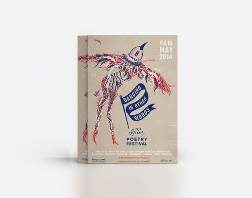 Dancing in other words Poetry Festival - brochures www.room13.co.za