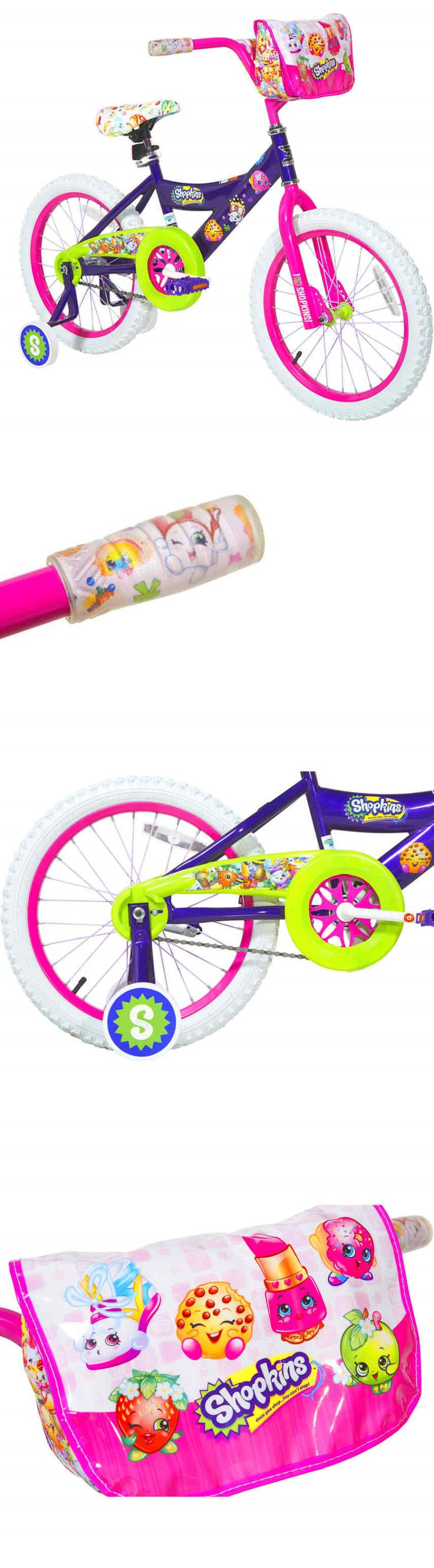 Other Cycling 2904: 18 Dynacraft Shopkins Girls Bike Steel Frame Training Wheels Kids Bicycle New -> BUY IT NOW ONLY: $168.18 on eBay!